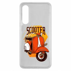 Чохол для Xiaomi Mi9 SE Orange scooter