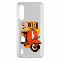 Чохол для Xiaomi Mi9 Lite Orange scooter