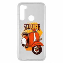 Чохол для Xiaomi Redmi Note 8 Orange scooter