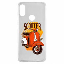 Чохол для Xiaomi Redmi Note 7 Orange scooter