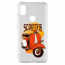 Чохол для Xiaomi Redmi S2 Orange scooter