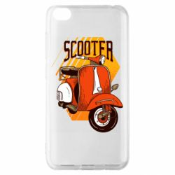 Чохол для Xiaomi Redmi Go Orange scooter