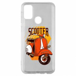 Чохол для Samsung M30s Orange scooter