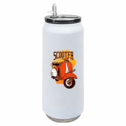 Термобанка 500ml Orange scooter