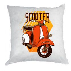 Подушка Orange scooter