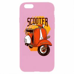 Чохол для iPhone 6 Plus/6S Plus Orange scooter