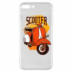 Чохол для iPhone 7 Plus Orange scooter