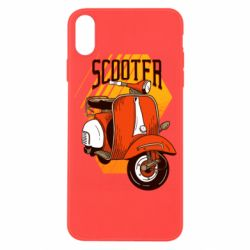 Чохол для iPhone X/Xs Orange scooter