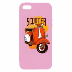 Чохол для iphone 5/5S/SE Orange scooter