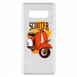 Чохол для Samsung Note 8 Orange scooter
