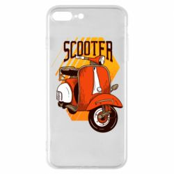 Чохол для iPhone 8 Plus Orange scooter