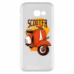 Чохол для Samsung A5 2017 Orange scooter