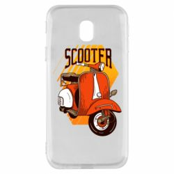 Чохол для Samsung J3 2017 Orange scooter