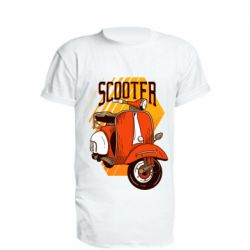 Подовжена футболка Orange scooter