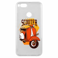 Чохол для Xiaomi Mi A1 Orange scooter