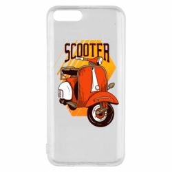Чохол для Xiaomi Mi6 Orange scooter
