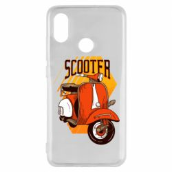 Чохол для Xiaomi Mi8 Orange scooter