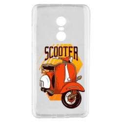 Чохол для Xiaomi Redmi Note 4 Orange scooter