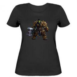 Женская футболка Orc