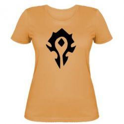 Женская футболка Орда - FatLine