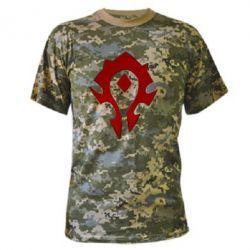 Камуфляжная футболка Орда - FatLine
