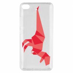 Чехол для Xiaomi Mi 5s Origami dinosaur