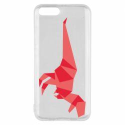 Чехол для Xiaomi Mi6 Origami dinosaur