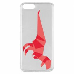 Чехол для Xiaomi Mi Note 3 Origami dinosaur