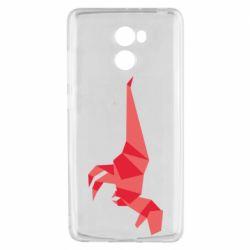 Чехол для Xiaomi Redmi 4 Origami dinosaur