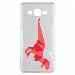 Чехол для Samsung A5 2015 Origami dinosaur