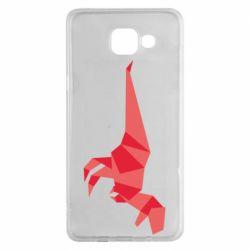 Чехол для Samsung A5 2016 Origami dinosaur