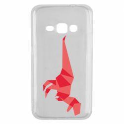Чехол для Samsung J1 2016 Origami dinosaur