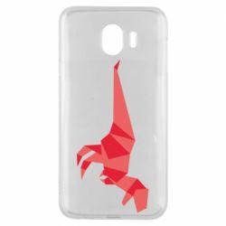 Чехол для Samsung J4 Origami dinosaur