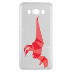 Чехол для Samsung J7 2016 Origami dinosaur