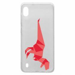 Чехол для Samsung A10 Origami dinosaur