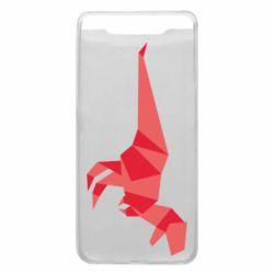 Чехол для Samsung A80 Origami dinosaur
