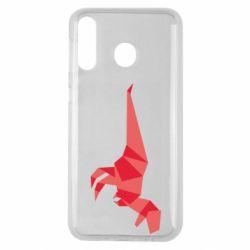 Чехол для Samsung M30 Origami dinosaur