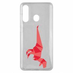 Чехол для Samsung M40 Origami dinosaur