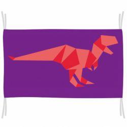 Флаг Origami dinosaur