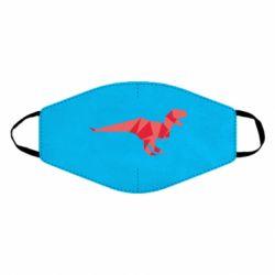Маска для лица Origami dinosaur