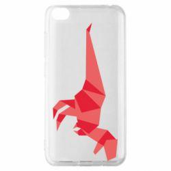 Чехол для Xiaomi Redmi Go Origami dinosaur