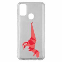 Чехол для Samsung M30s Origami dinosaur