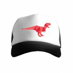Детская кепка-тракер Origami dinosaur