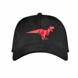 Детская кепка Origami dinosaur