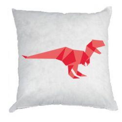 Подушка Origami dinosaur