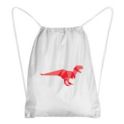 Рюкзак-мешок Origami dinosaur