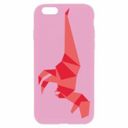 Чехол для iPhone 6 Plus/6S Plus Origami dinosaur