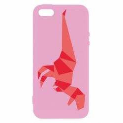 Чехол для iPhone5/5S/SE Origami dinosaur