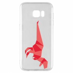 Чехол для Samsung S7 EDGE Origami dinosaur