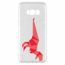 Чехол для Samsung S8 Origami dinosaur